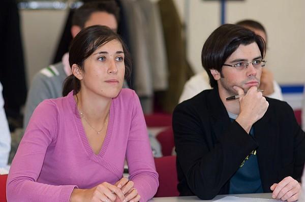 Auditeurs en cours de Jean de Kersvadoué, professeur titulaire d